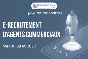 Cycle de rencontres : e-recrutement d'agents commerciaux