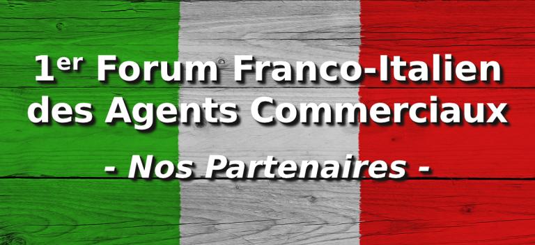 Forum Franco Italien des Agents Commerciaux : nos partenaires