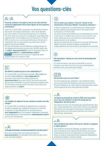 Protection sociale des independants 2